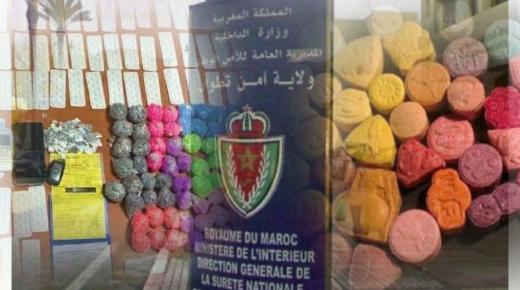 تنسيق أمني محكم يفضي لحجز 10.800 قرص مخدر بمدينة مارتيل