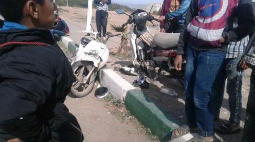 إصابة شخصين بجروح متفاوتة الخطورة في حادثة سير بأولاد تايمة