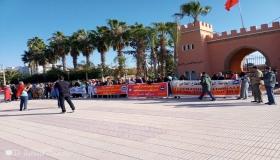 """عمال زراعيون يحتجون باشتوكة ضد حيف السلطات وتعسف """"الباطرونا"""""""