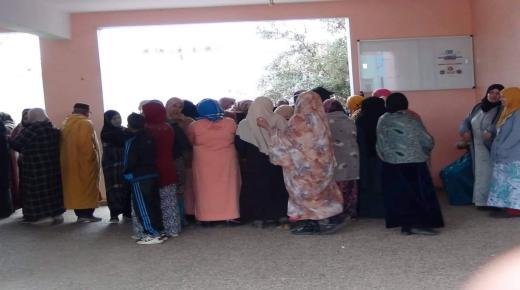 ثانوية الحنصالي الإعدادية تستقبل اكثر من 350 من اباء و أمهات و اولياء التلاميذ