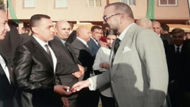 """"""" سعيد صوم """" شاب التقى محمد السادس وهكذا حدثه الملك"""