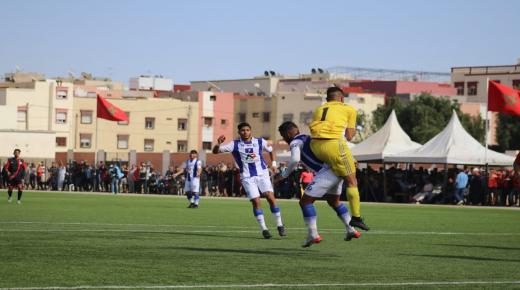 فريق هلال تراست ينتصر على فريق اولمبيك مراكش وينفرد بصدارة الترتيب