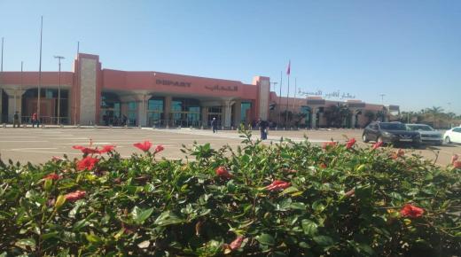 المصالح الأمنية بمطار أكادير المسيرة كابوس المهربين و المتلاعبين