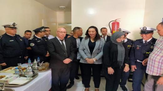 مفوضية الشرطة بأولاد تايمة تحتفي بالمرأة الشرطية في عيد المرأة العالمي