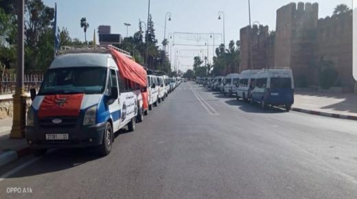 السلطة المحلية بتارودانت تمنع مسيرة احتجاجية بسيارات النقل المزدوج إلى الرباط