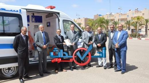 المبادرة تمنح سيارة إسعاف لجماعة أربعاء رسموكة نواحي تزنيت