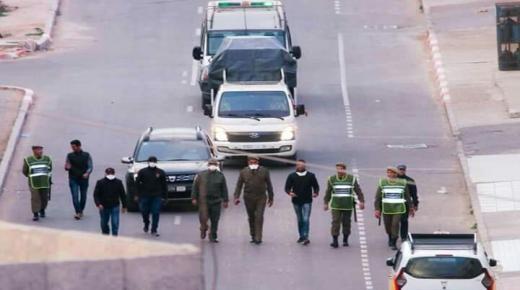 مجهودات أمنية لفرض الحجر الصحي في أنزا بأكادير