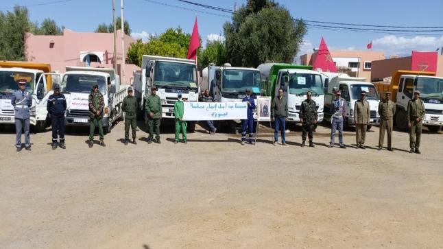 تزويد 13 دوارا بالماء الشروب بجماعة أرزان ناحية تارودانت