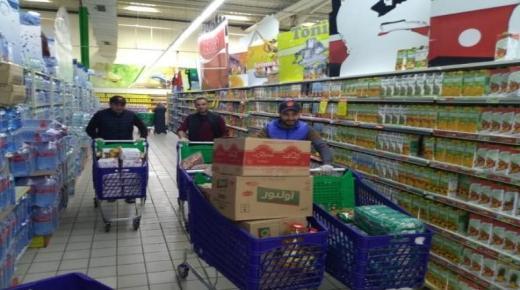 جائحة كورونا : الإغاثة المدنية تخصص 2500 قفة لفائدة الأسر الهشة
