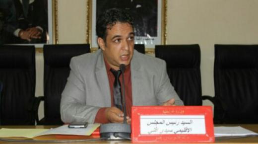 """بسبب """" كورونا """" المجلس الإقليمي يدعم مواطني سيدي إفني"""