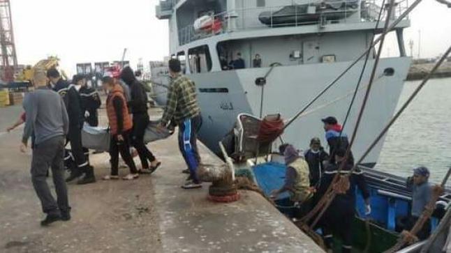 العثور على جثة بحار داخل مركب للصيد بميناء أكادير