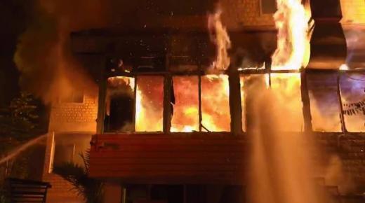 حريق يأتي على مطعم بالنقطة الكلومترية 25 شمال أكادير