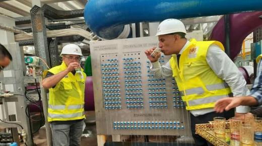 Enfin le rêve se concrétise la station de dessalement de l'eau de mer de Chtouka