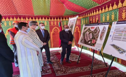 الإطلاق الرسمي لأشغال إنجاز مشروع المرآب تحت أرضي الانبعاث بأكادير