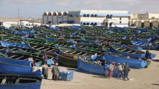 تدمير 12 قاربا في وضعية غير قانونية بجهة الداخلة