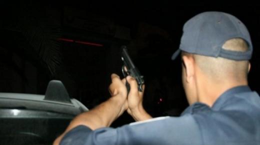"استعمال "" السلاح "" لإيقاف شخص شكل خطرا نواحي بيوكرى"