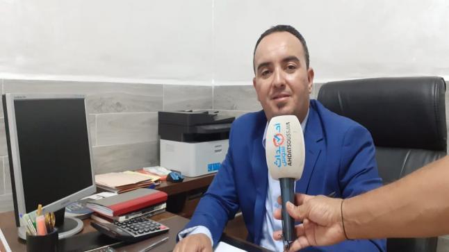 """الوسيط العقاري """" حسن هلال """" يفتتح أول وكالة عقارية بآيت ملول"""