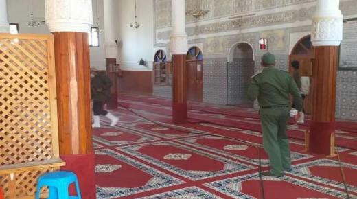 """إصابة إمام ب """" كورونا """" يغلق مسجدا بمركز سيدي بيبي"""