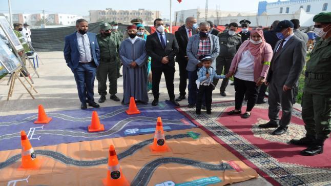 سيدي إفني: عامل الإقليم يشرف على مجموعة من الأنشطة تخليدا لليوم الوطني للسلامة الطرقية