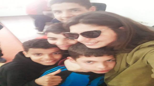 هبة الزيزي من الجمعية الخيرية دار الوفاء ،نمودج للشباب الطموح لخدمة قضايا الاطفال