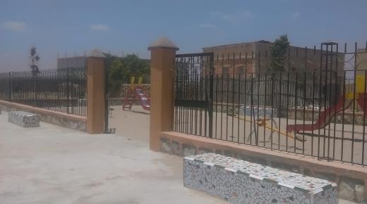 حديقة حي الشليوات أولاد تايمة تتعرض للتخريب والنهب