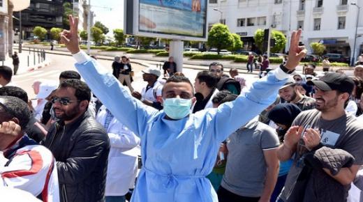 """الممرضون يتوعدون بالتصعيد ويؤكدون على ضرورة حماية المهنة من """"الدخلاء"""""""