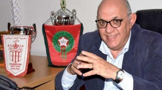 أزمة وضغوطات تدفع سيدينو لتقديم استقالة مفاجئة من الحسنية