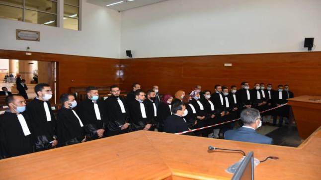 استئنافية أكادير تحتضن الجلسة الرسمية لأداء اليمين القانونية للمحاميات والمحامين المتمرنين..