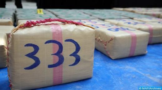إجهاض عملية للتهريب الدولي للمخدرات وحجز طن و486 كلغ من الشيرا