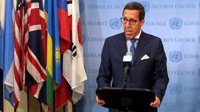 هلال: المعايير الأممية الخاصة بالحق في تقرير المصير لا تنطبق مطلقا على الصحراء المغربية
