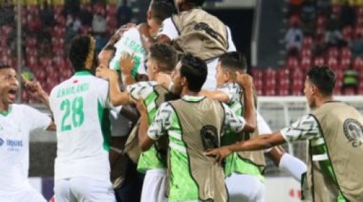 الرجاء الرياضي يتوج بلقب كأس محمد السادس على حساب الاتحاد السعودي