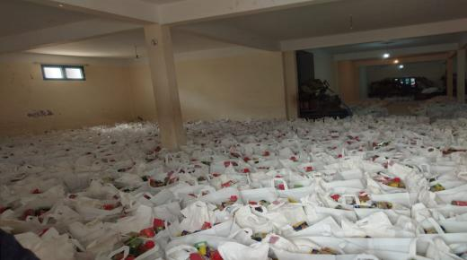 سيدي إفني: انطلاق المرحلة الثانية من عملية توزيع الدعم الغذائي على الأسر المعوزة والمتضررة من حالة الطوارئ الصحية