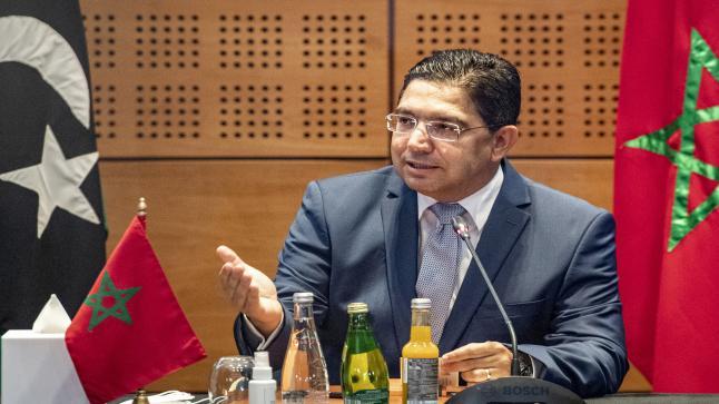 بوريطة: المغرب يواكب مجهودات ليبيا للتحضير للاستحقاقات الانتخابية الرامية لوضع أسس الاستقرار بهذا البلد