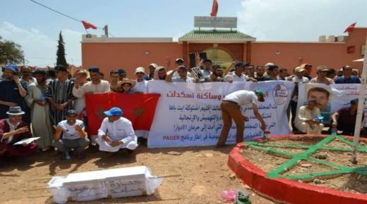 انعدام الماء الشروب يخرج دواوير للإحتجاج بآشتوكة