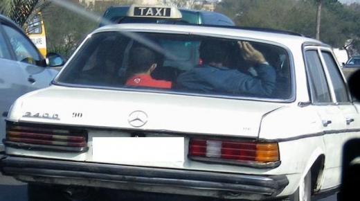 أكادير : على نهج افلام الاكشن ، عصابة معهم فتاة يختطفون سائق طاكسي ويطالبون بفدية مالية