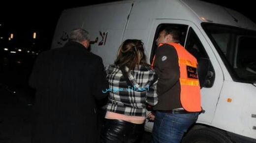 إعتقال شابة تشهر السلاح الأبيض في بيوكرى