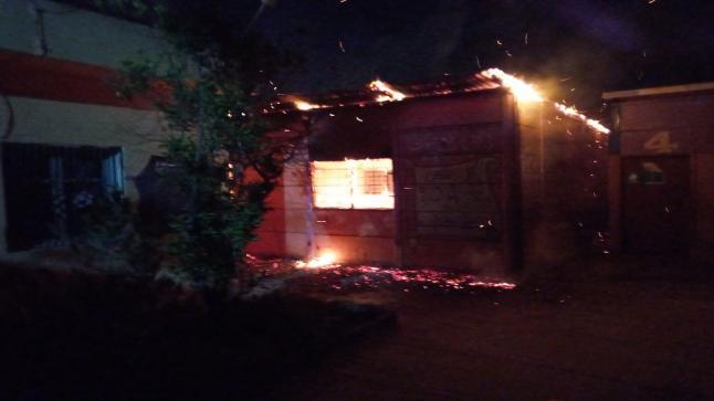 حريق مهول يأتي على وحدة مدرسية بالقليعة