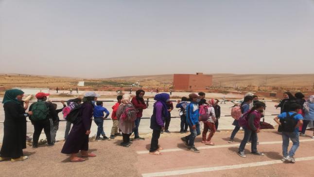 """مدارس """" بوابوض """" في حملة للحد من الهدر المدرسي بشيشاوة"""