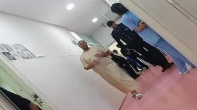 النطق بالحكم القضائي لملتقط صورة الزفزافي بالمستشفى
