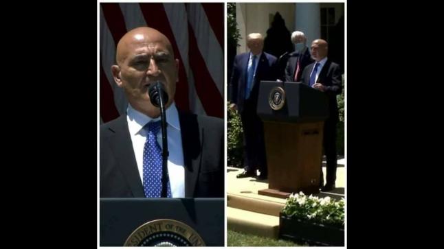 ترامب يستقبل المغربي منصف السلاوي ويعينه مستشارا رئيسيا لقيادة جهود صناعة لقاح كورونا