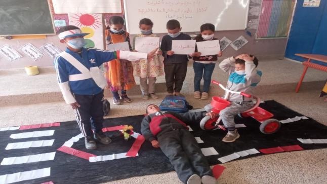 مجموعة مدارس بوابوض تخلد اليوم الوطني للسلامة الطرقية في أجواء تربوية تعليمية