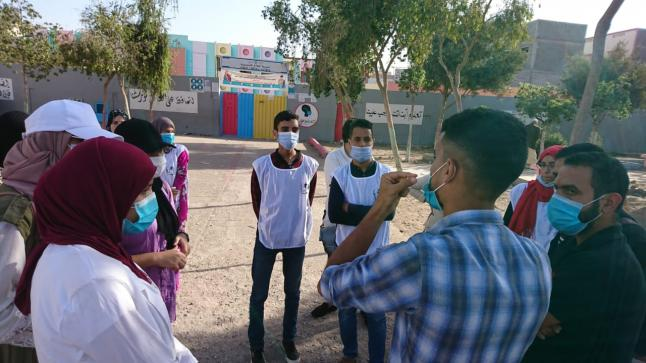 على إمتداد ثلاثة أيام: فرع جمعية التربية والتنمية بإنزكان ينظم حملة تحسيسية بمخاطر تفشي فيروس كورونا