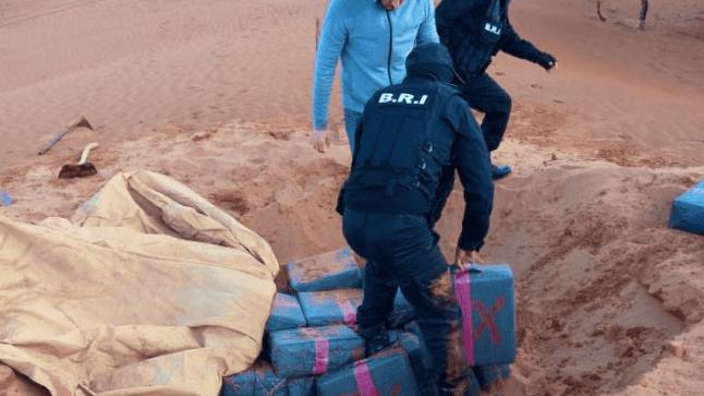 """الشرطة القضائية تحجز تسعة أطنان من""""الحشيش"""" بكلميم"""