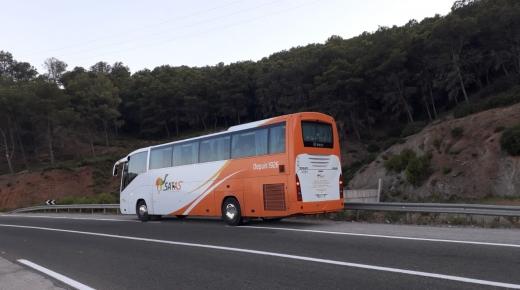 شركة ساطاس تعزز أسطولها بحافلات جديدة