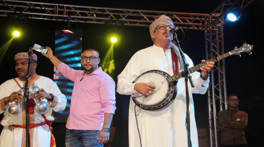 انزكان : مجموعة اودادن تختتم فعاليات مهرجان بيلماون بودماون بحي الجرف