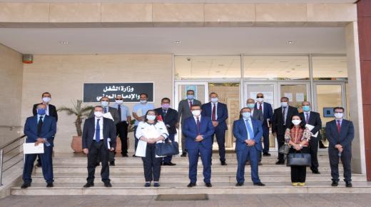 وزير الشغل يكرم عددا من مفتشي الشغل منوها باسهامهم لمحاربة الجائحة