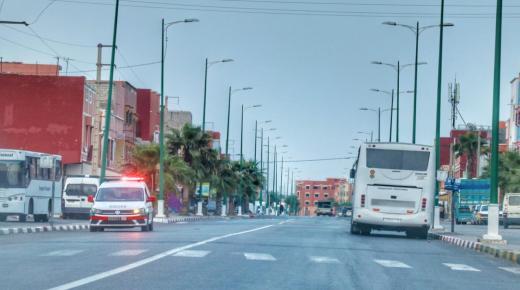 باراجات ودوريات أمنية للشرطة والسلطة المحلية بآزرو في آيت ملول
