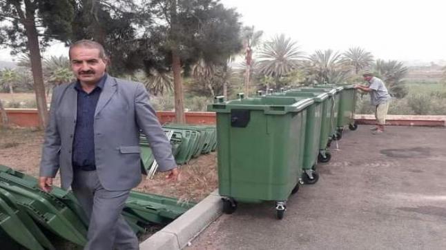 """الرئيس """" السوسي """" يوضح أسباب تفاقم الأزبال في سيدي وساي"""