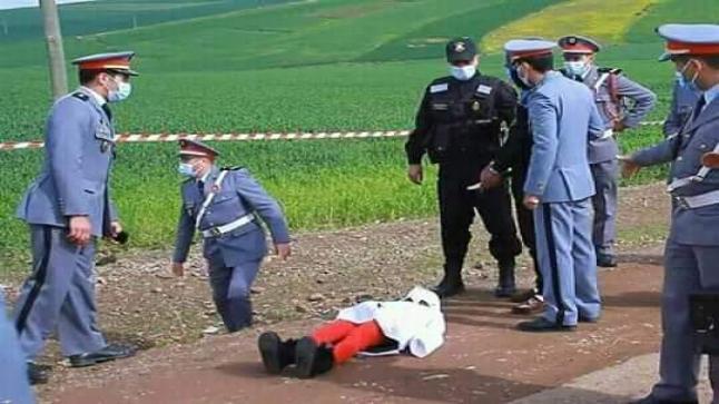 """إعادة تمثيل جريمة قتل الطفلة """" مريم """" بالكارة"""