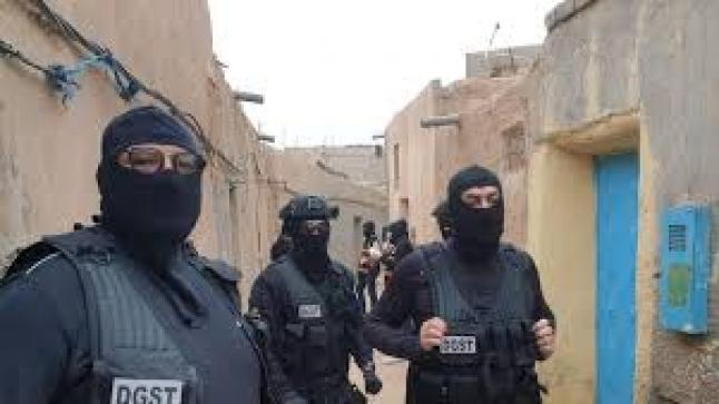 """توقيف عدة أشخاص على صلة بالتنظيم الإرهابي """"داعش"""" ضواحي مراكش"""